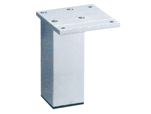 Aluminum square leg for furniture
