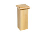 P | Knob flat and square for stair newel