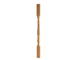 17 | Turning wood fluted baluster stair in beech or oak