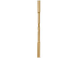 711 | Helical molded baluster made of beech wood