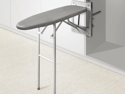 Folding table ironing